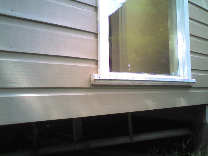 exterior weatherboard cladding inspection what defects to look for